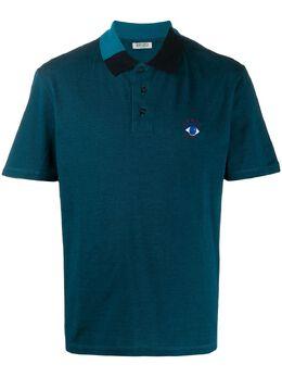 Kenzo block-panel short sleeved polo shirt F465PO0134BB