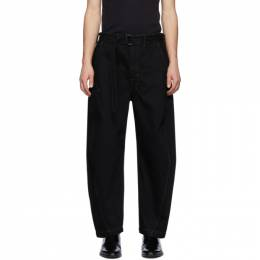 Lemaire Black Twisted Jeans M 201 PA137 LD017