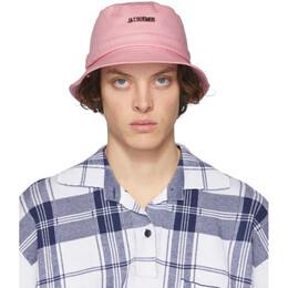 Jacquemus Pink Le Bob Gadjo Bucket Hat 205AC03-205 69400