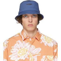 Jacquemus Blue Le Bob Gadjo Bucket Hat 205AC03-205 69320