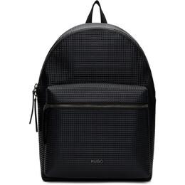 Hugo Black Rocket Backpack 50429054