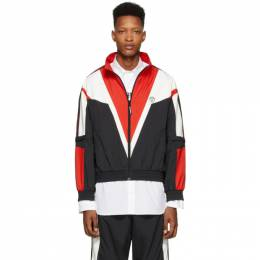 Vetements Black and Red Track Jacket SS20JA242
