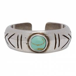 Isabel Marant Blue and Silver Summer Ring 20PBG0107-20P005T