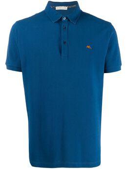 Etro embroidered logo polo shirt 1Y1419240