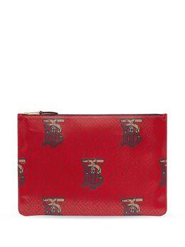 Burberry клатч с монограммой 8024146