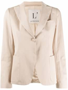 L'Autre Chose one-button fitted blazer BK570200020