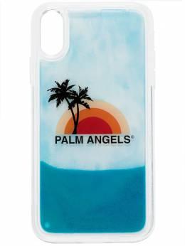 Palm Angels чехол для iPhone XS с принтом Sunset PMPA008S207920160188