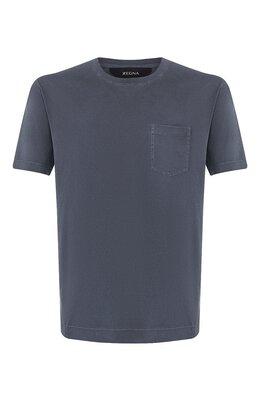 Хлопковая футболка Z Zegna VU373/ZZ679