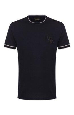 Хлопковая футболка Billionaire B20C MTK4186 BTE014N
