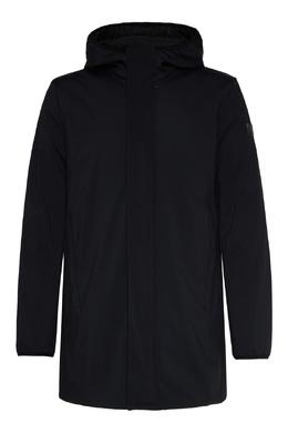 Черная куртка с логотипом Emporio Armani 2706184048