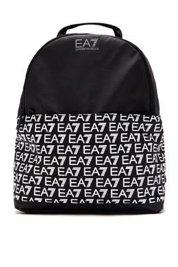 Черный рюкзак из нейлона Emporio Armani 2706184142