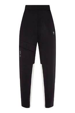 Спортивные брюки черного цвета Emporio Armani 2706184035