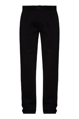 Черные брюки из хлопковой ткани Emporio Armani 2706184137