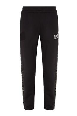 Спортивные брюки из хлопка Emporio Armani 2706184043