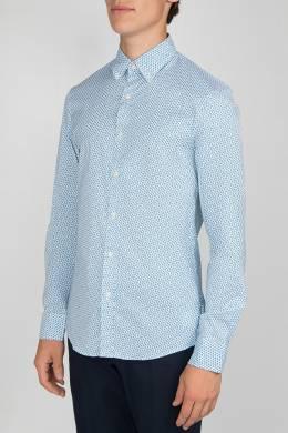 Белая рубашка с мелким принтом Michael Kors 2137183795