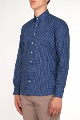 Синяя рубашка с принтом Etro 907183794
