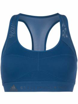 Adidas by Stella McCartney mesh panel sports bra FK9734