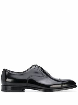 Doucal's shine effect lace-up Oxford shoes DU10002YORKUF028N