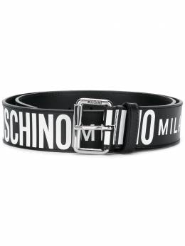Moschino all-over logo belt 80228010