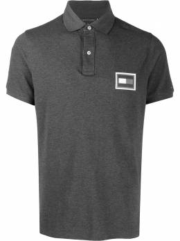 Tommy Hilfiger logo patch polo shirt MW0MW12247P9X