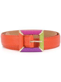 Etro colour block buckle belt 1F3022663