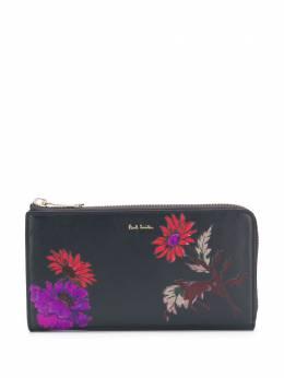 Paul Smith floral-print zip-around wallet W1A5214A50192PR