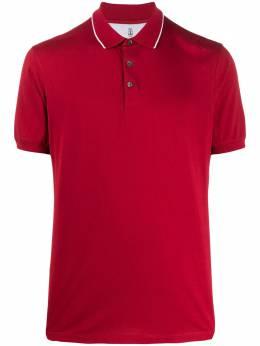 Brunello Cucinelli striped collar polo shirt M0T610718