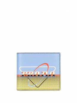 Prada Prada Oval stencil wallet 2MO5132DE6