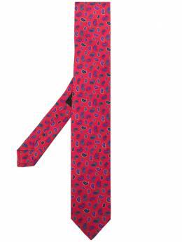 Etro Micro paisley-print silk tie 120265117