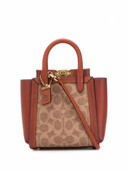Coach сумка-тоут Troupe размера мини 84228000