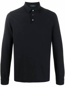 Zanone long-sleeved polo shirt 811819Z0380