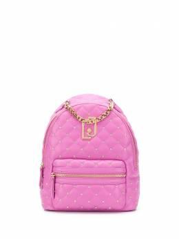 Liu Jo стеганый рюкзак с кристаллами AA0181E0041