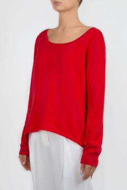 Красный свитер с асимметричным низом Michael Kors 2137183469