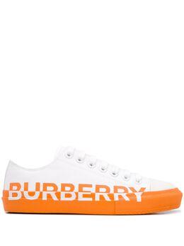 Burberry logo print sneakers 8024304000