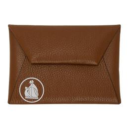 Lanvin Brown Envelope Clutch LW-SLUP03-BRET-P20