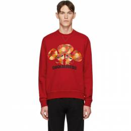Dsquared2 Red Mouse Cool Fit Sweatshirt S74GU0393 S25042