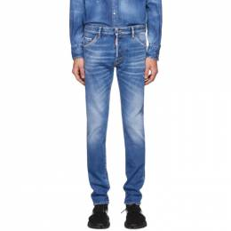 Dsquared2 Blue Cool Guy Proper Wash Jeans S74LB0668 S30662