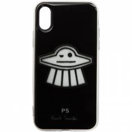 Ps by Paul Smith Black Clip UFO iPhone X Case M2A-5551-AUFO