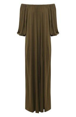 Платье из смеси вискозы и шелка Loro Piana FAL0542