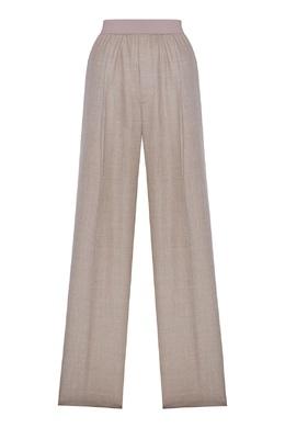 Серые шерстяные брюки Erika Cavallini 1770184251