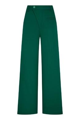 Зеленые полушерстяные брюки Annakiki 3162184277