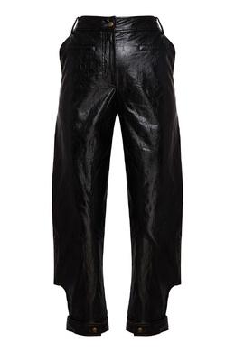 Черные брюки из эко-кожи Rejina Pyo 2953184279