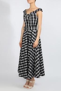 Клетчатое платье с пышной юбкой Michael Kors 2137183550