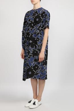 Платье с асимметричными рукавами Michael Kors 2137183548