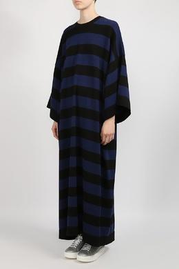 Полосатое трикотажное платье в пол Michael Kors 2137183549