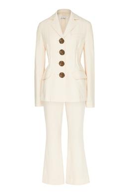 Молочно-белый брючный костюм Rejina Pyo 2953184314