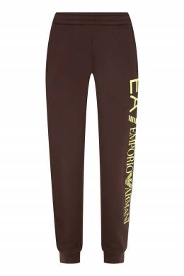 Спортивные брюки с яркой надписью Emporio Armani 2706184090