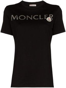 Moncler футболка Girocollo с логотипом 8C71510V8094