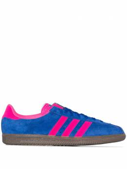 Adidas blue and pink Padiham suede sneakers EF5715