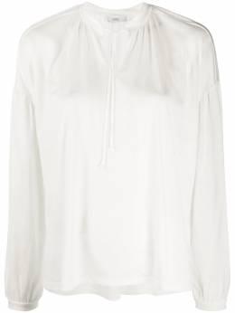 Closed tie neck blouse C9560341T22